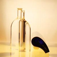 Designerflasche Komma